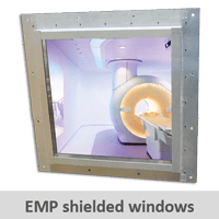 Click here to get more information about our EMP shielded windows