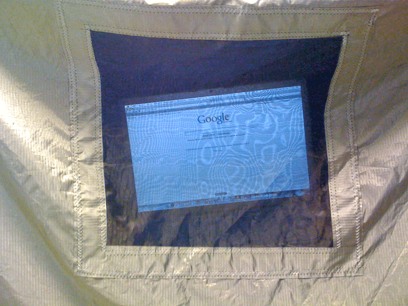Example image of Shielded ventilation mesh
