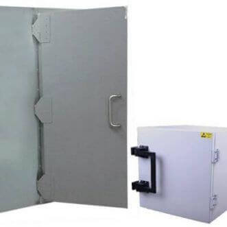 ファラデーケージ、標準およびカスタムメイドのEMIシールドテストボックス