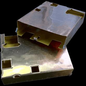 高精度導電性EMI箔成形